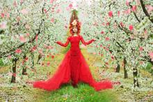 Fairy-Fotokunst-vrouw