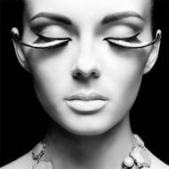 Portret-in-Black-and-White-Fotokunst-vrouw