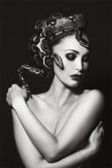 SnakeWoman-Fotokunst-vrouw