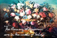 Fotokunst-bloemen