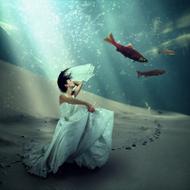 Under-Water-World-Fotokunst-vrouw