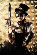 Game-Fotokunst-vrouw