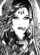 Queen-Fotokunst-vrouw