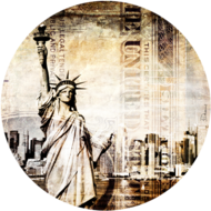 Fotokunst-New-York-100-x-100-cm-rond