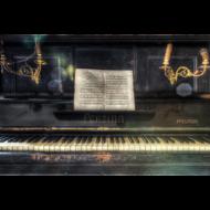 Fotokunst-piano