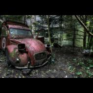 Fotokunst-auto